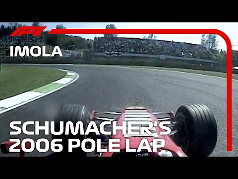 Michael Schumacher's Pole Lap At Imola | 2006 San Marino Grand Prix