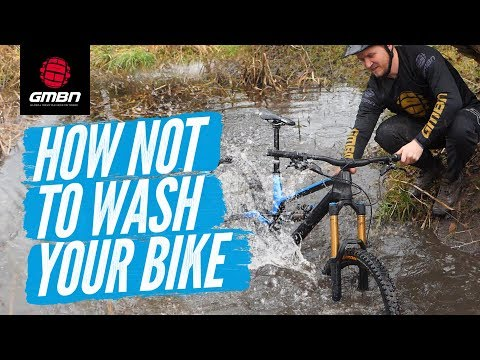 How Not To Wash Your Mountain Bike After A Ride