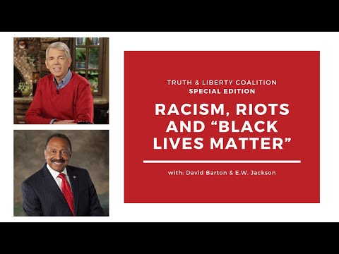 Andrew Wommack, David Barton & E.W. Jackson Discuss Racism, Riots & Black Lives Matter! - Part 2
