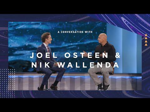 A Conversation with Joel Osteen & Nik Wallenda  Lakewood Church