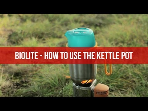 Biolite - How to Use The Kettle Pot