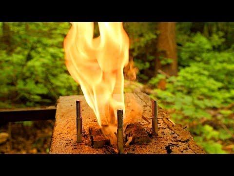 DIY Stone BBQ Timelapse | Outdoor Kitchen