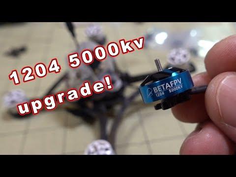 BetaFPV 1204 Motor Upgrade on Eachine TWIG 👍 - UCnJyFn_66GMfAbz1AW9MqbQ