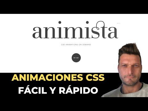 ✅  ANIMISTA CREA ANIMACIONES CSS CON CUALQUIER ELEMENTO (GRATIS, FÁCIL Y RÁPIDO)