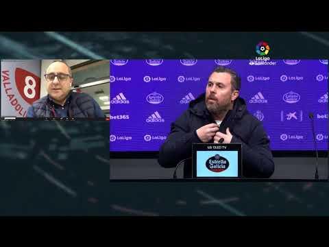 Rueda de prensa Real Valladolid CF vs SD Huesca