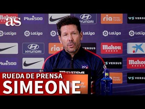 Atlético de Madrid – Barcelona | Rueda de prensa de Simeone |Diario As