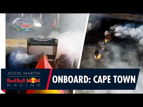 Onboard in Cape Town! | Join David Coulthard as he brings F1 to the Mother City.