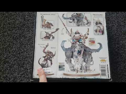 Warhammer Unboxing german HD Beastclaw Raiders