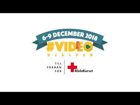 Videohjälpen 2018 - till förmån för Röda Korset