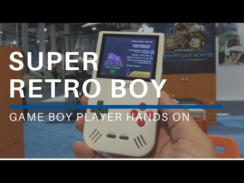 Super Retro Boy Hands On At CES 2017