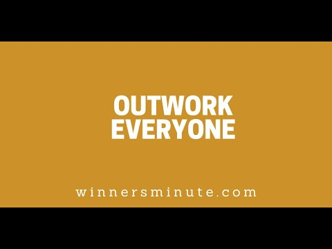 Outwork Everyone // The Winner's Minute With Mac Hammond