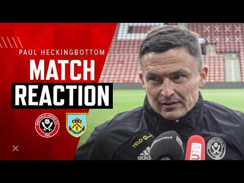 Paul Heckingbottom | Match Reaction Interview | Sheffield United 1-0 Burnley