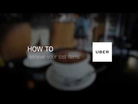 Uber In-App Support: How to Retrieve Your Lost Items
