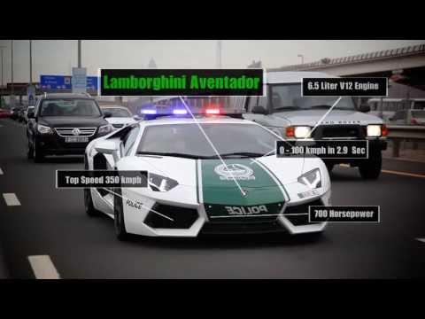 Samochody dubajskiej policji