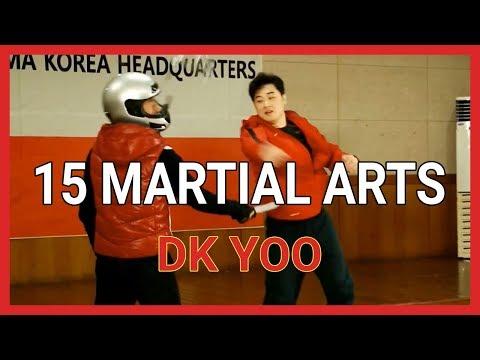 DK Yoo - 15 martial arts - UCaFPh_ms6WL9p9Sg4pkekqg
