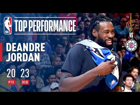 DeAndre Jordan Puts Up 20 Points & 23 Rebounds! Against The Cavaliers