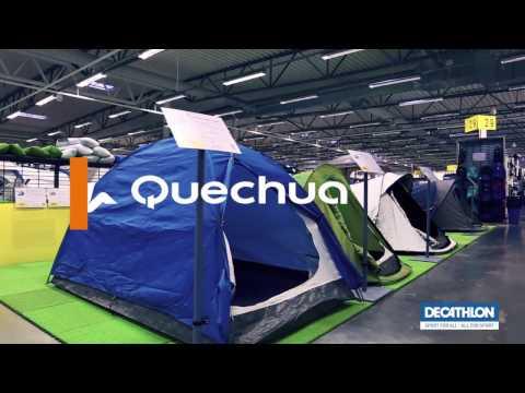 Redo för en ny vandringssäsong! Quechua showroom