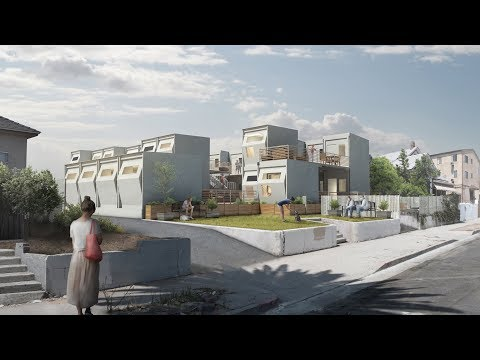 Modular temporary housing to tackle homelessness | Architecture