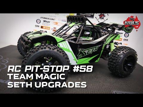 RC Pit-Stop 58 - Team Magic Seth Upgraded and Reborn - UCOfR0NE5V7IHhMABstt11kA