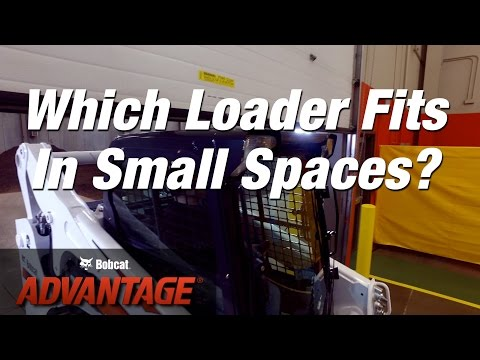 Work In Small Spaces: Bobcat vs. Other Loader Brands
