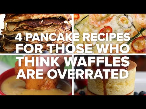4 Pancake Recipes For Those Who Think Waffles Are Overrated ? Tasty Recipes