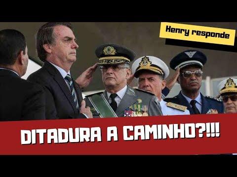SE BOLSONARO DER UM GOLPE DE ESTADO, O QUE VAI ACONTECER?! - Henry responde (Parte 1)