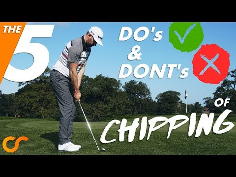 THE 5 'DO's & DON'Ts' OF CHIPPING