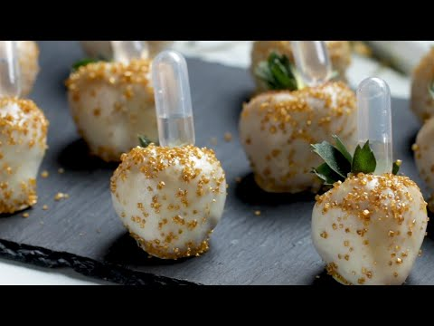 Champagne Chocolate-Covered Strawberries ? Tasty Recipes