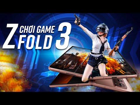 Gaming trên Galaxy Z Fold3: