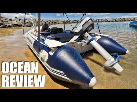 Solar Electric 12S LiPo BRUSHLESS Mini Boat - Epropulsion SPIRIT 1.0 Outboard Review in Hawaii Ocean - UCVQWy-DTLpRqnuA17WZkjRQ