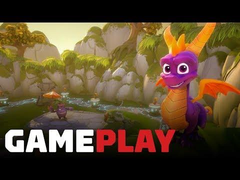 Spyro Reignited Trilogy Idol Springs Gameplay - UCKy1dAqELo0zrOtPkf0eTMw