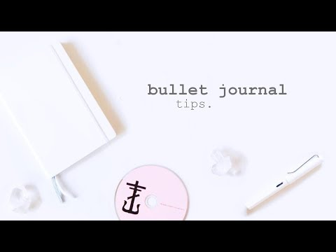 Bullet Journal || 8 Tips to Make Your Life Less Stressful and More Productive