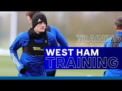 Foxes Train For Important West Ham Trip   West Ham United vs. Leicester City   2020/21