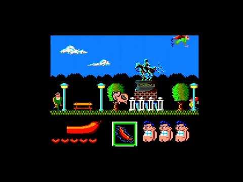 Capitán Sevilla - 1ª parte - Amstrad CPC Longplay