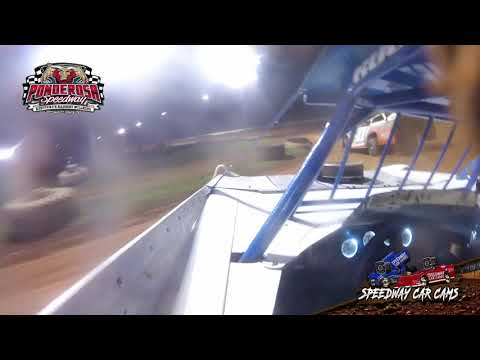 #35 Todd Coffman - Crate Late Model - 8-6-21 Ponderosa Speedway - In-Car Camera - dirt track racing video image