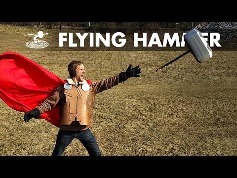 "Can I Make Thor's Hammer ""Mjölnir"" Fly? - UC9zTuyWffK9ckEz1216noAw"
