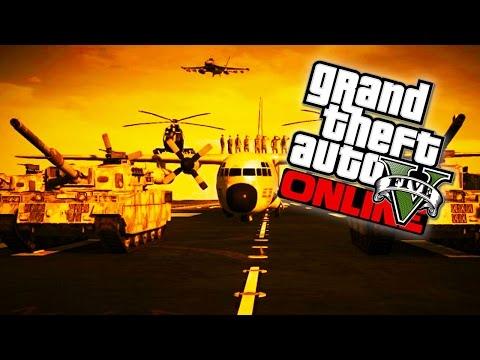 GTA 5 - Military Base Takeover!!! Fort Zancudo Invasion GTA 5 Livestream! (GTA V Gameplay) - UC2wKfjlioOCLP4xQMOWNcgg