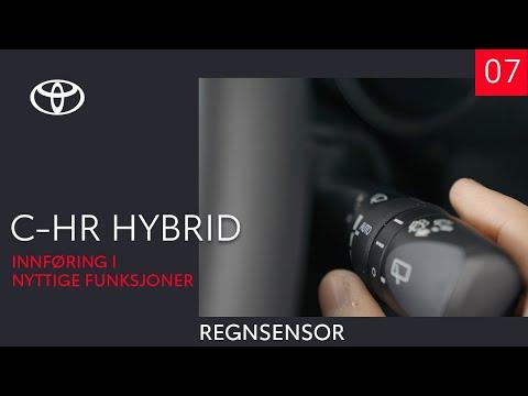 Toyota C-HR Hybrid 2020 - Regnsensor (7 av 10) - Innføring i nyttige funksjoner