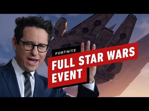 Full Fortnite Star Wars Event (J.J. Abrams, Trailer and Lightsaber Gameplay) - UCKy1dAqELo0zrOtPkf0eTMw