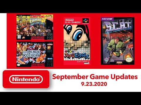 NES & Super NES - September Game Updates - Nintendo Switch Online