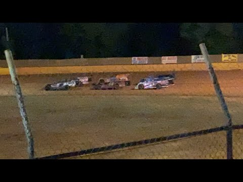 5/29/2021 Dash For Cash Blue Ridge Outlaw Late Models Harris Speedway - dirt track racing video image