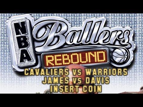 NBA Ballers Rebound (2005) - PSP - Lebron James vs Baron Davis