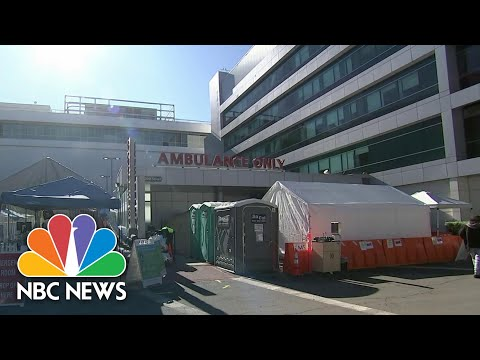 Los Angeles County Reports Most Covid Deaths Since Start Of Pandemic | NBC News NOW
