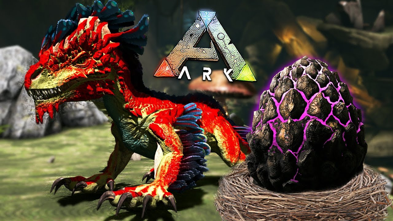ARK: Survival Evolved - BABY ROCK DRAKE EGG HATCHING & RAISING