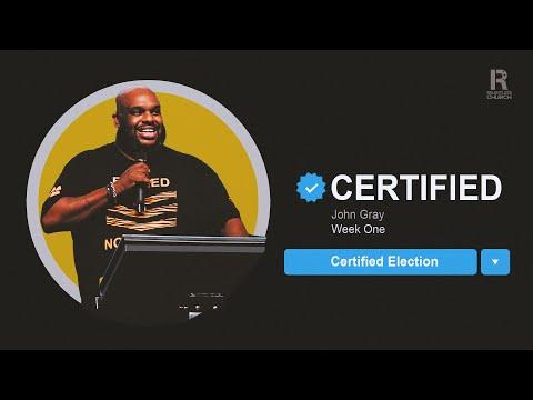 Certified  Certified Election  John Gray