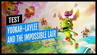 Vidéo-Test : TEST | YOOKA-LAYLEE AND THE IMPOSSIBLE LAIR PS4 FR