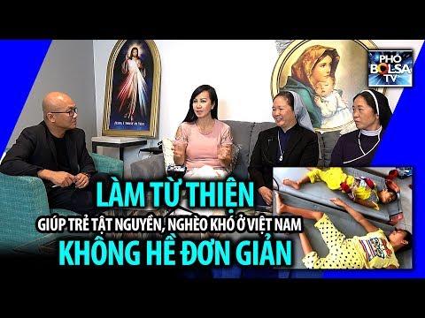 Làm từ thiện giúp trẻ em nghèo & tàn tật ở Việt Nam không hề đơn giản