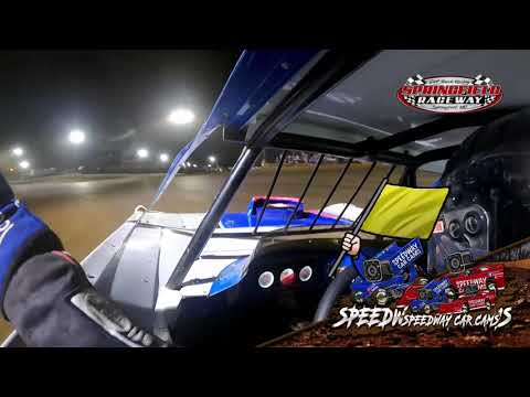 #7 Cole Wells - Cash Money Late Model - 8-14-2021 Springfield raceway - In Car Camera - dirt track racing video image