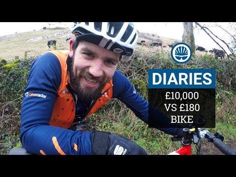 £10,000 vs £180 Hill Climb Bike | Our Savage Climbing Test | BikeRadar Diaries #7