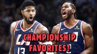 How Kawhi Leonard & Paul George To the Clippers CHANGES EVERYTHING